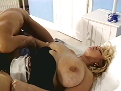 Gaynor fucks on the bed