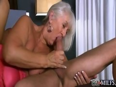 60PlusMILFs - Jeannie Lou&#039_s DP Adventure