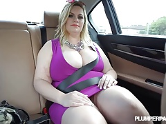 Slutty Curvy MILF Tiffany Blake Picked up and Fucked by BBC