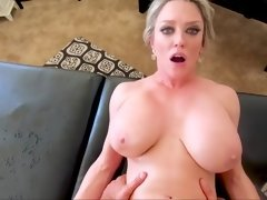 Buxom MILF Dee Williams hot POV massage video